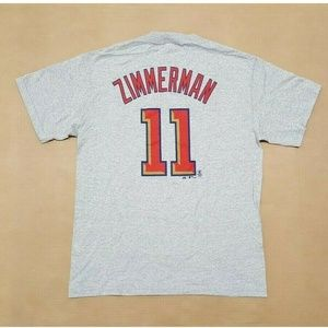 Washington Nationals Ryan Zimmerman Tee Men's sz M